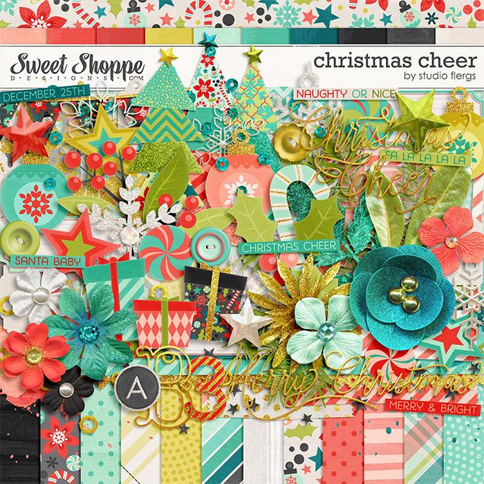 christmas cheer by Studio Flergs