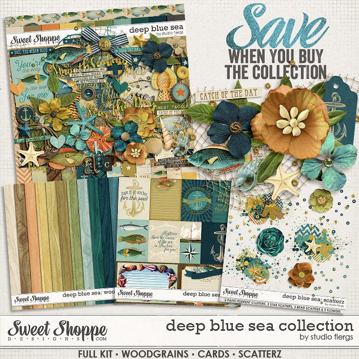 Deep Blue Sea :. COLLECTION by Studio Flergs