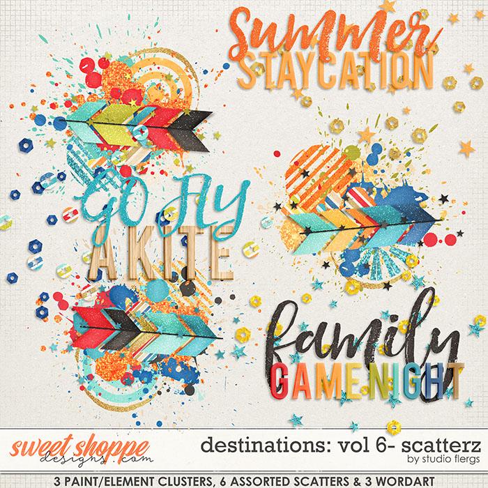 Destinations: Vol 6 - Scatterz by Studio Flergs