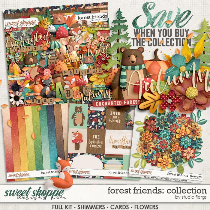 Forest Friends: COLLECTION & *FWP* by Studio Flergs