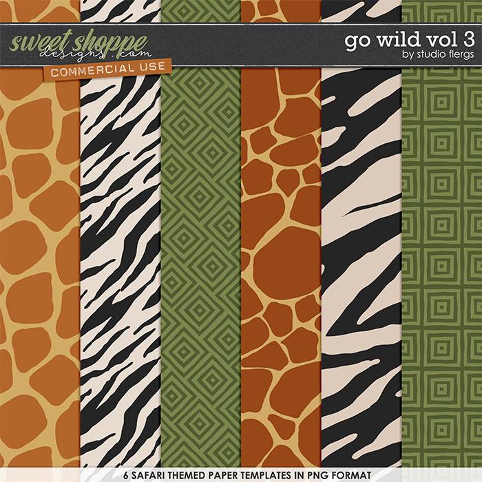 Go Wild VOL 3 by Studio Flergs