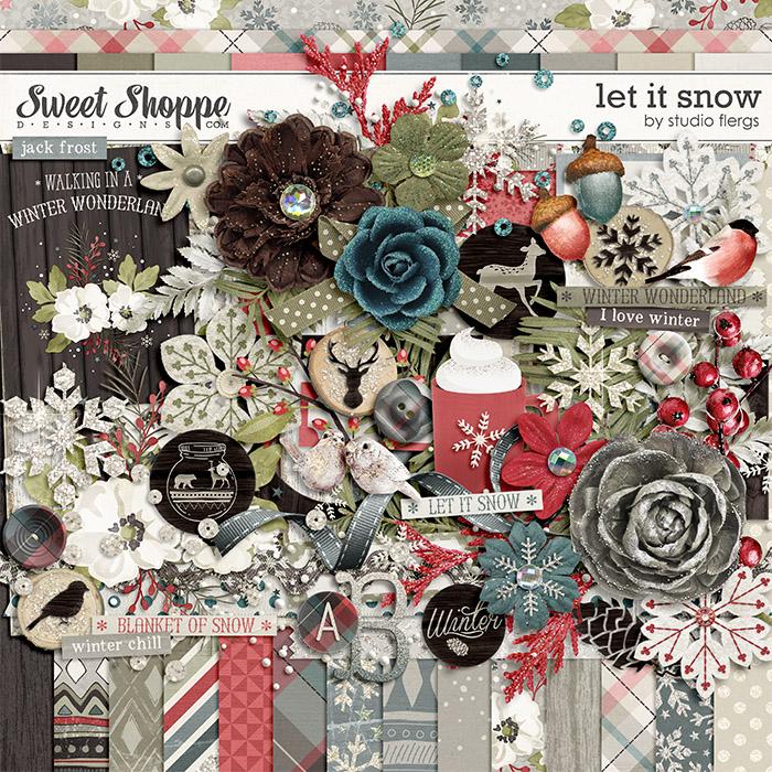 Let it Snow by Studio Flergs