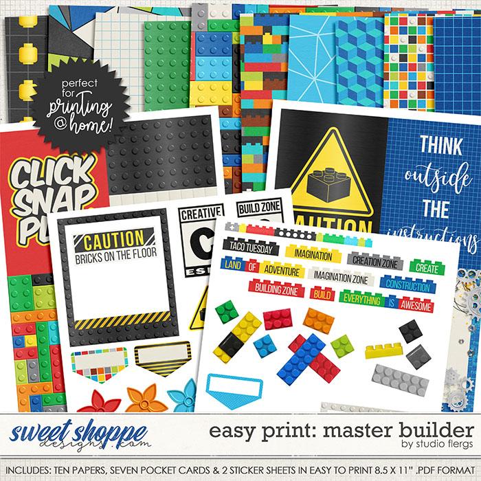 Master Builder- EZ PRINT by Studio Flergs