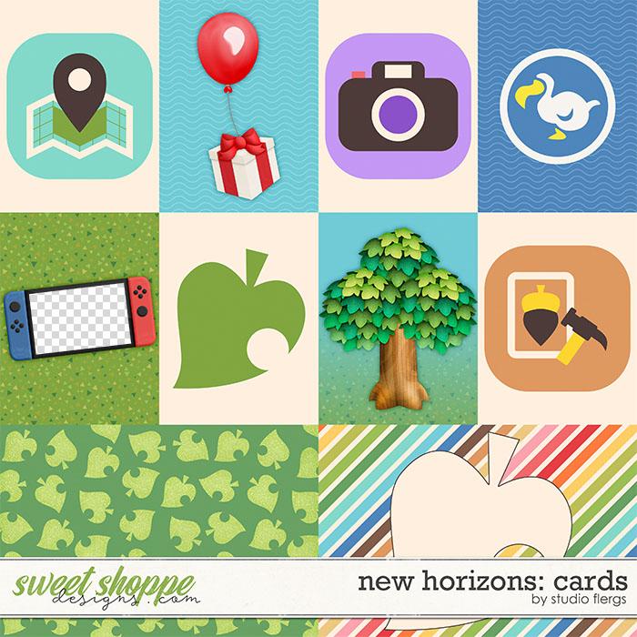 New Horizons: CARDS by Studio Flergs