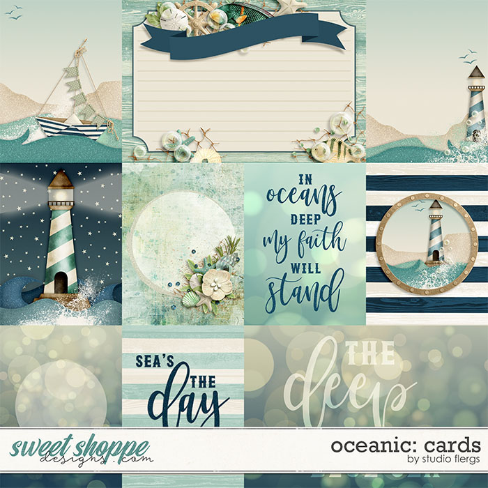 Oceanic: CARDS by Studio Flergs