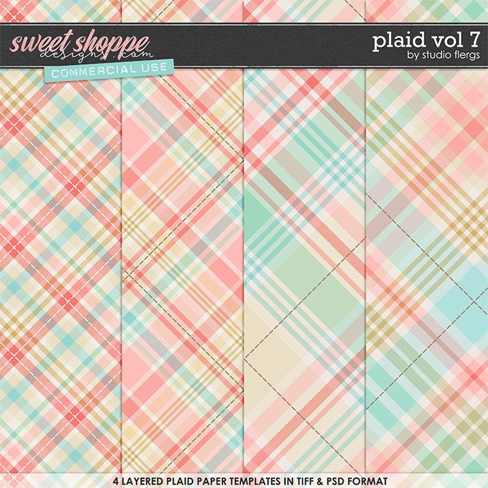 Plaid VOL 7 by Studio Flergs