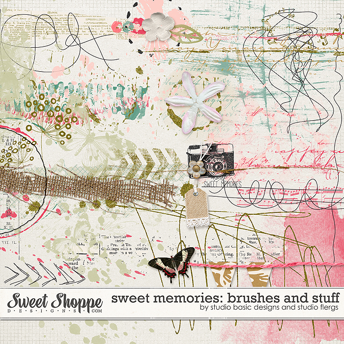 Sweet Memories: Brushes And Stuff! by Studio Basic
