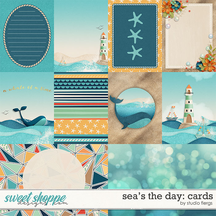 Sea's the Day: CARDS by Studio Flergs