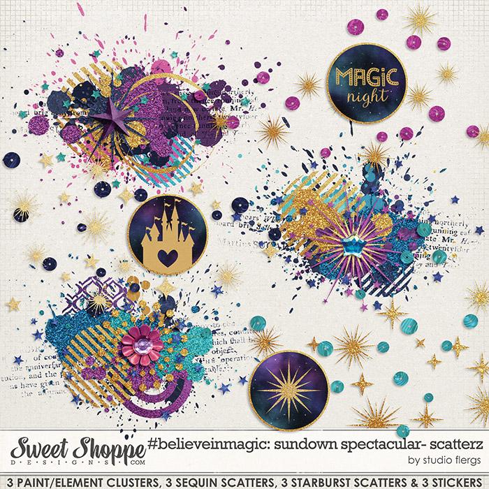 #believeinmagic: SUNDOWN SPECTACULAR: SCATTERZ by Studio Flergs