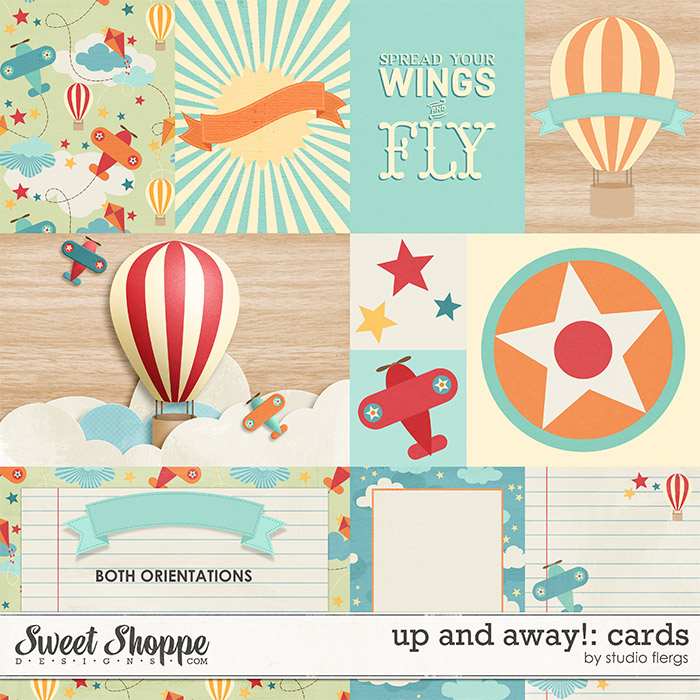 Up & Away!: CARDS by Studio Flergs