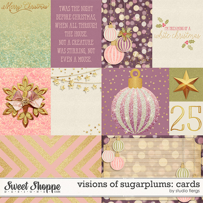 visions of sugarplums: CARDS by Studio Flergs