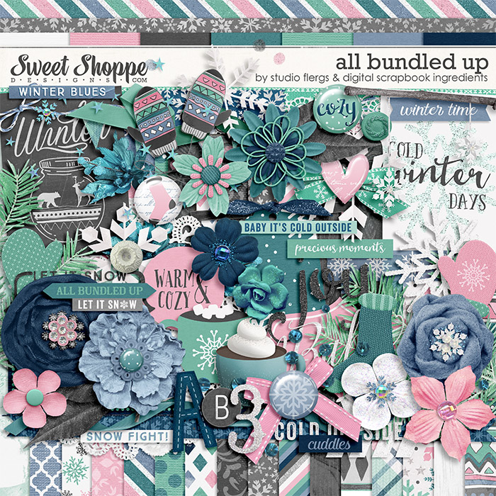 All Bundled Up by Studio Flergs & Digital Scrapbook Ingredients