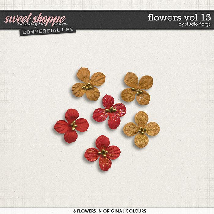 Flowers VOL 15 by Studio Flergs