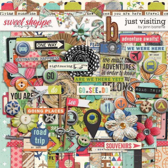 Just Visiting: Kit by Jenn Barrette