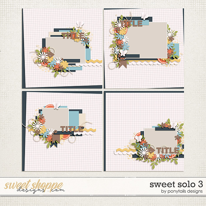 Sweet Solo 3 Templates by Ponytails