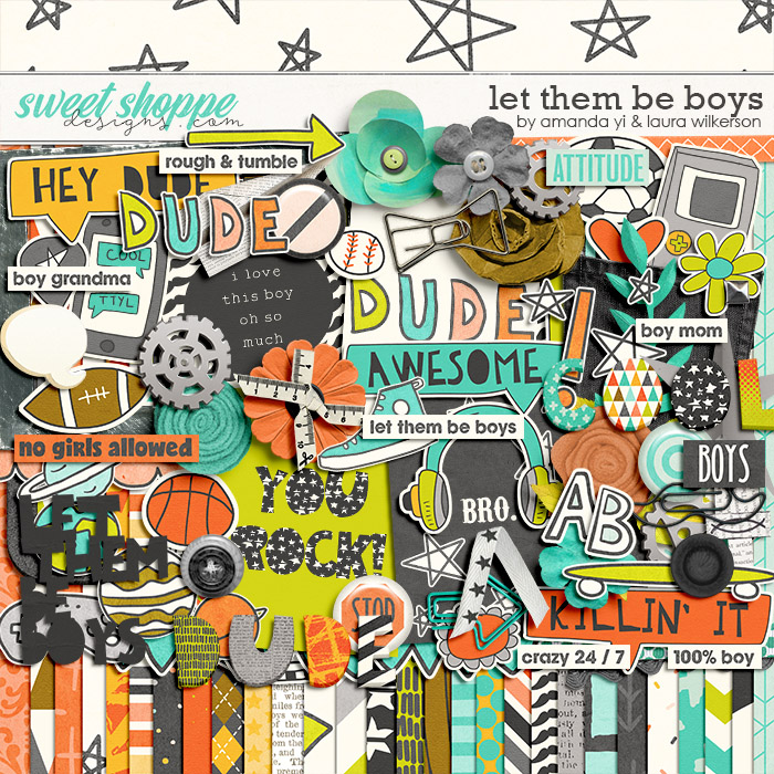 Let Them Be Boys by Amanda Yi and Laura Wilkerson