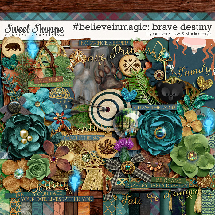 #believeinmagic:  Brave Destiny by Amber Shaw & Studio Flergs