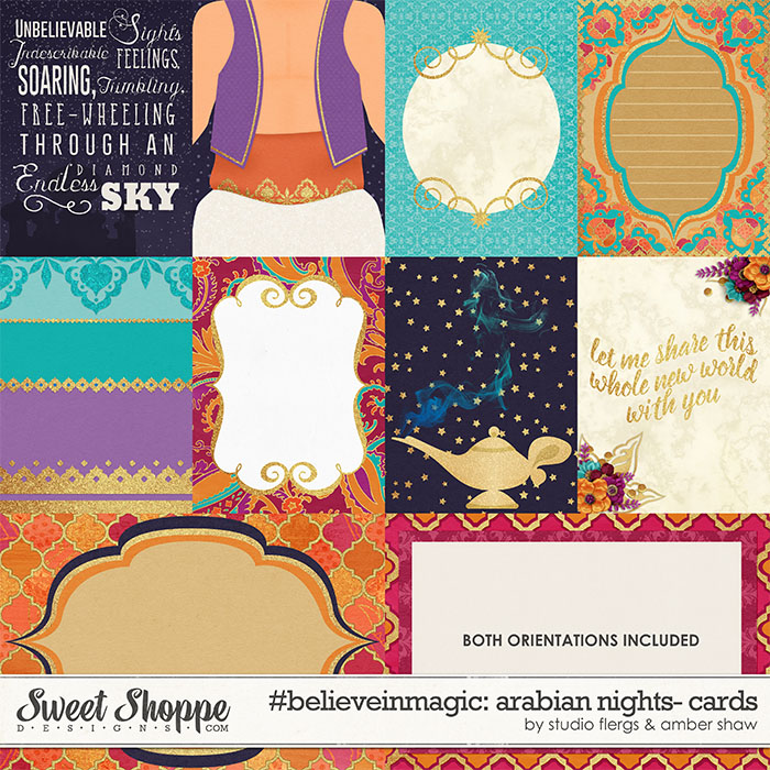 #believeinmagic: Arabian Nights Cards by Amber Shaw & Studio Flergs
