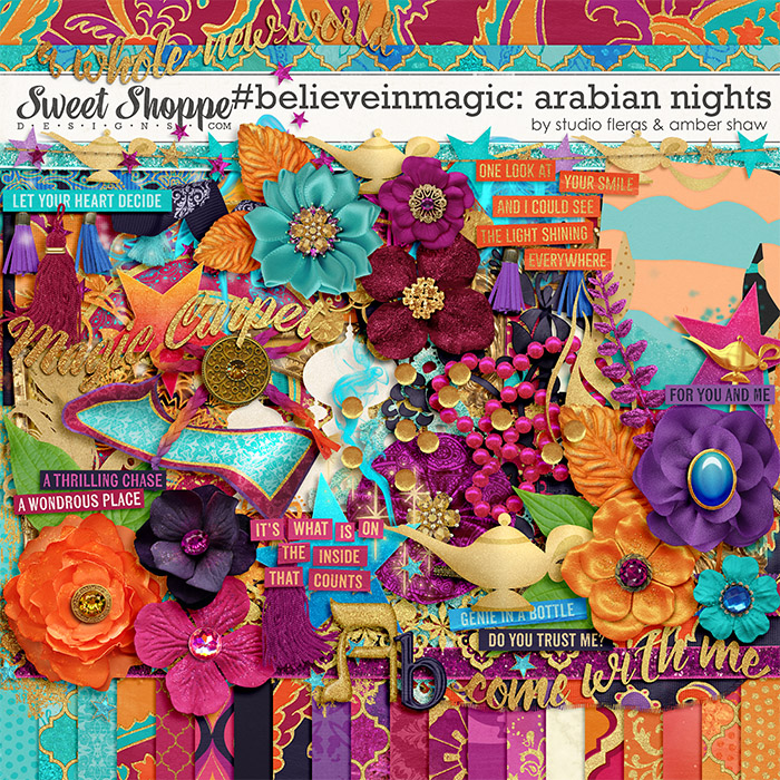 #believeinmagic: Arabian Nights by Amber Shaw & Studio Flergs