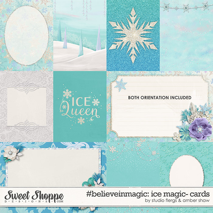 #believeinmagic: Ice Magic Cards by Amber Shaw & Studio Flergs