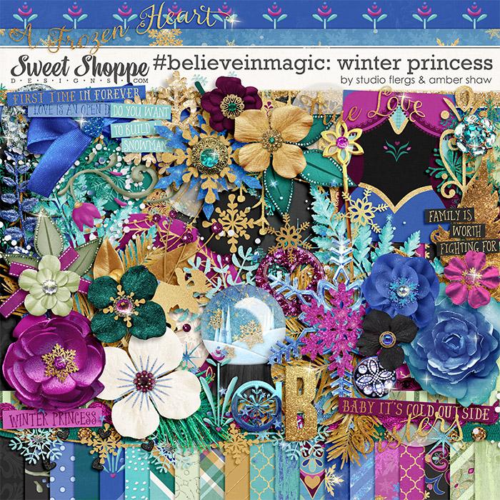 #believeinmagic: Winter Princess by Amber Shaw & Studio Flergs