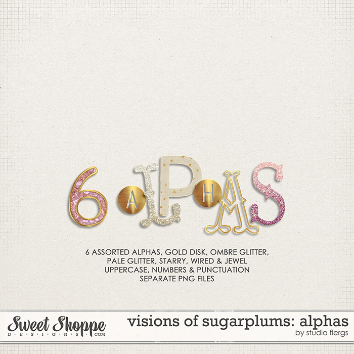 visions of sugarplums: ALPHAS by Studio Flergs