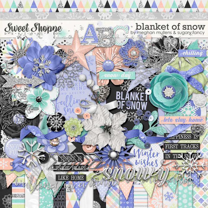 Blanket Of Snow by Meghan Mullens and Sugary Fancy Designs