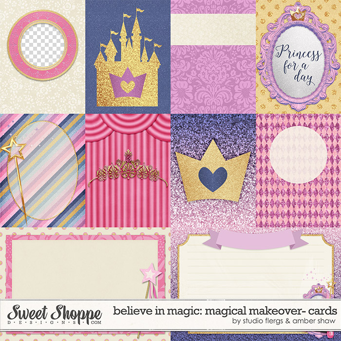 Believe In Magic: Magical Makeover Cards by Amber Shaw & Studio Flergs