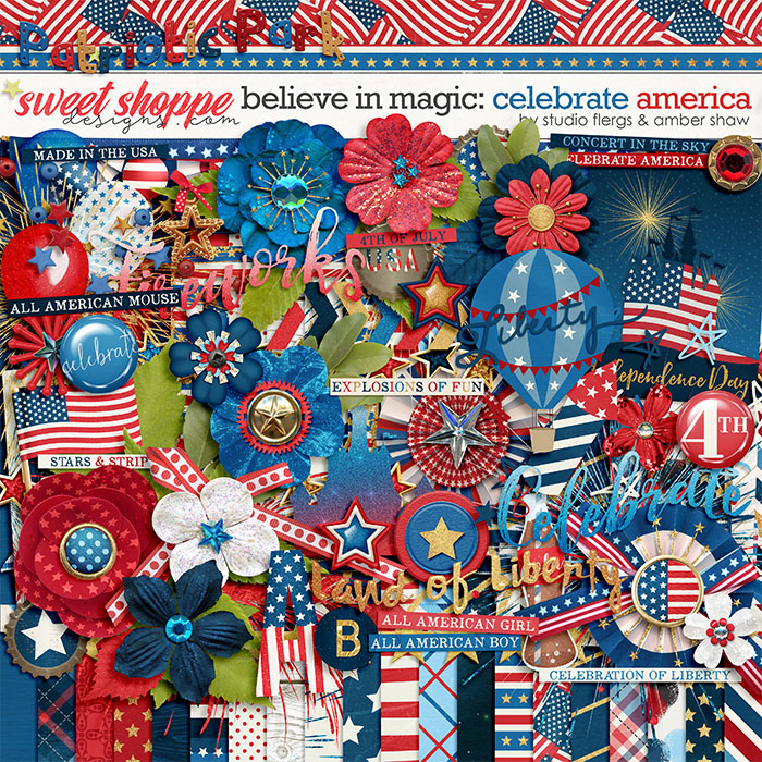 Beleive in Magic: Celebrate America by Amber Shaw & Studio Flergs