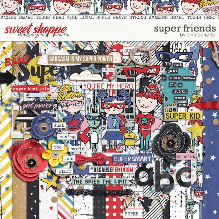 Super Friends by Jenn Barrette