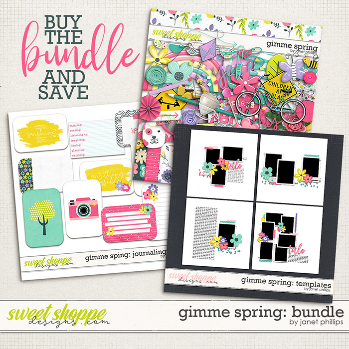 Gimme Spring BUNDLE by Janet Phillips