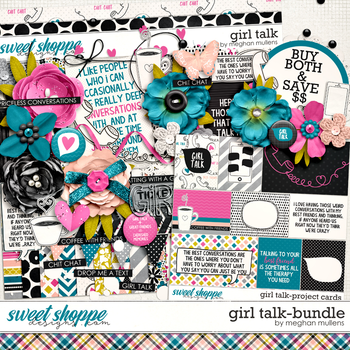 Girl Talk-Bundle by Meghan Mullens
