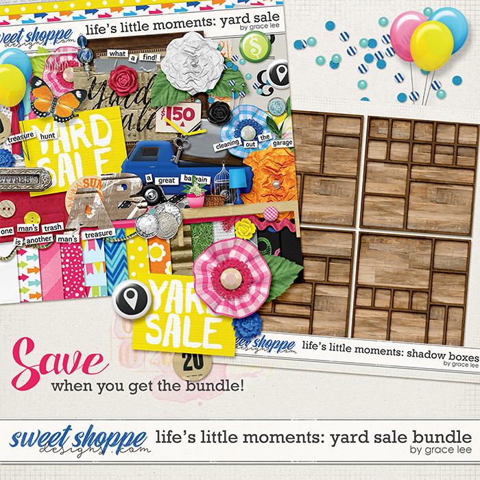 Life's Little Moments Yard Sale: Bundle by Grace Lee