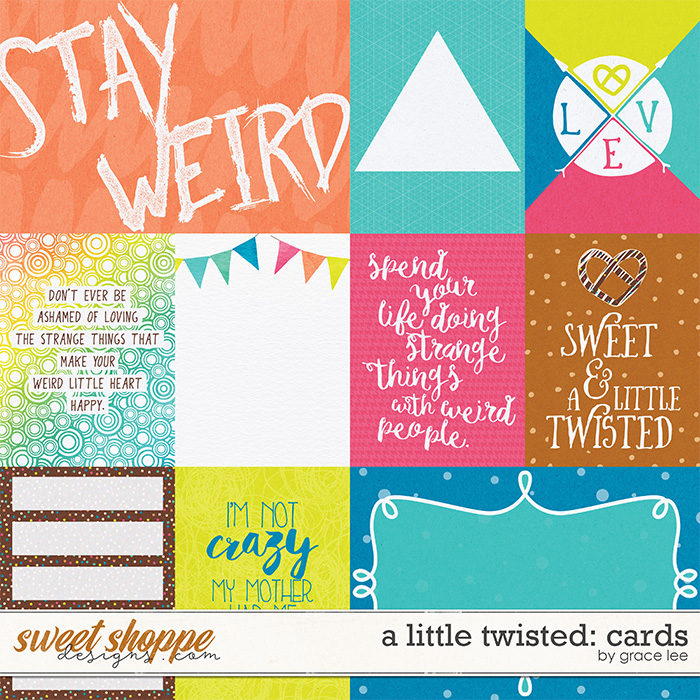 A Little Twisted: Cards by Grace Lee