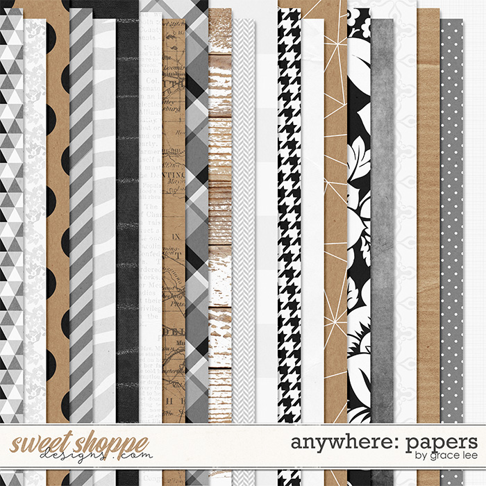Anywhere: Paper by Grace Lee