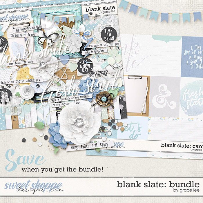 Blank Slate: Bundle by Grace Lee