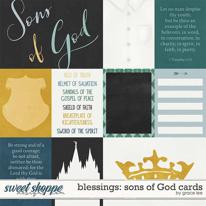 Blessings: Sons of God Cards by Grace Lee