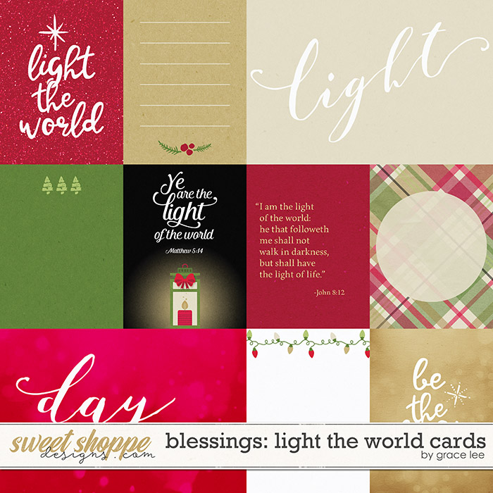 Blessings: Light The World Cards by Grace Lee