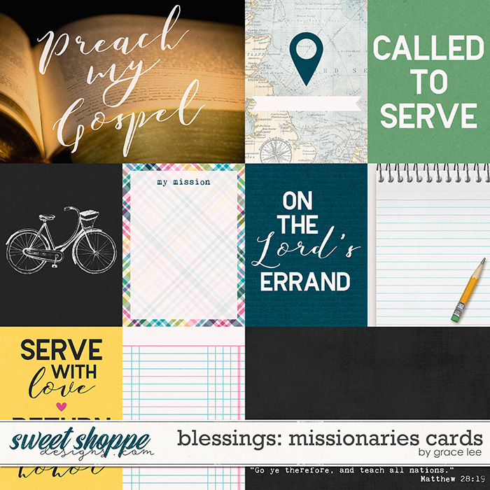 Blessings: Missionaries Cards by Grace Lee