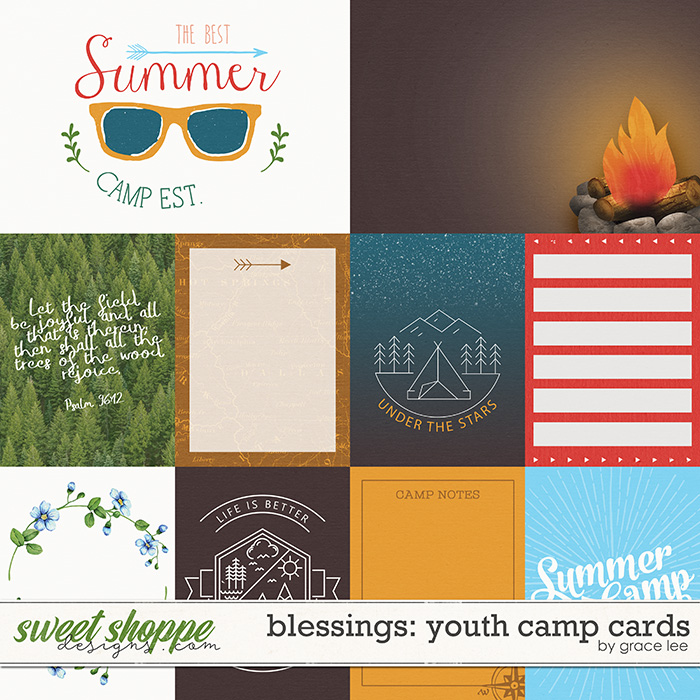 Blessings: Youth Camp Cards by Grace Lee