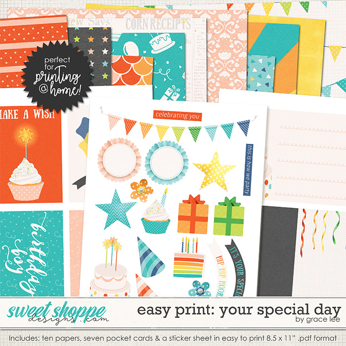 Easy Print: Your Special Day by Grace Lee