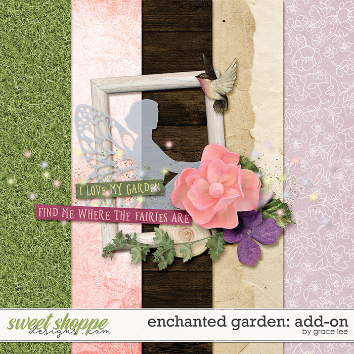 Enchanted Garden: Add-On by Grace Lee