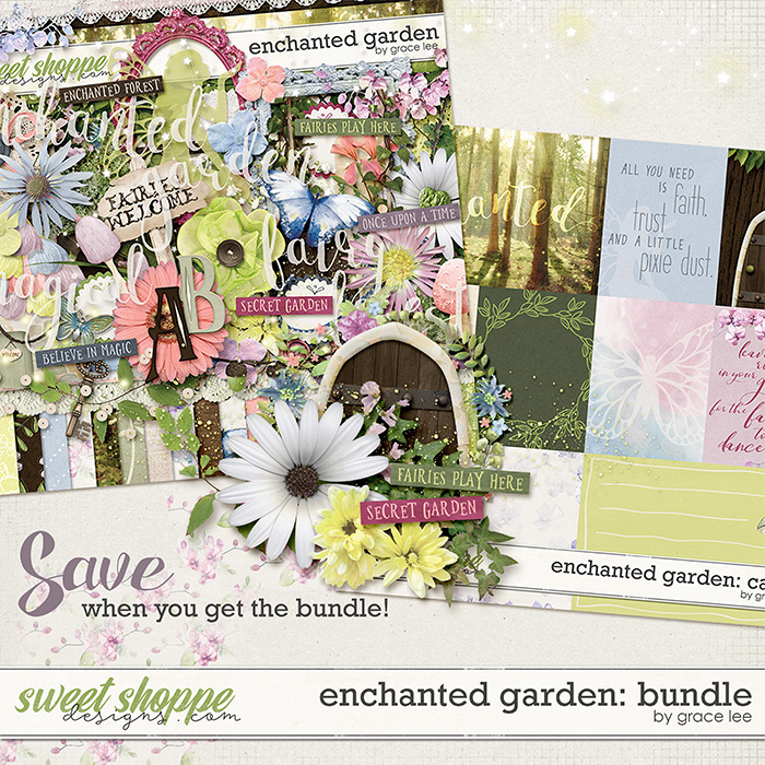 Enchanted Garden: Bundle by Grace Lee