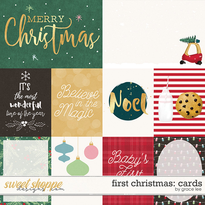 First Christmas: Cards by Grace Lee