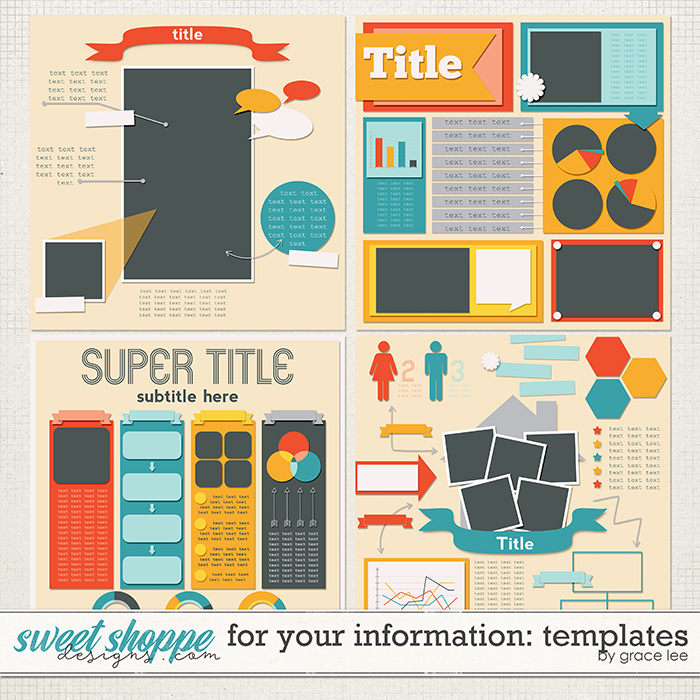 For Your Information: Templates by Grace Lee