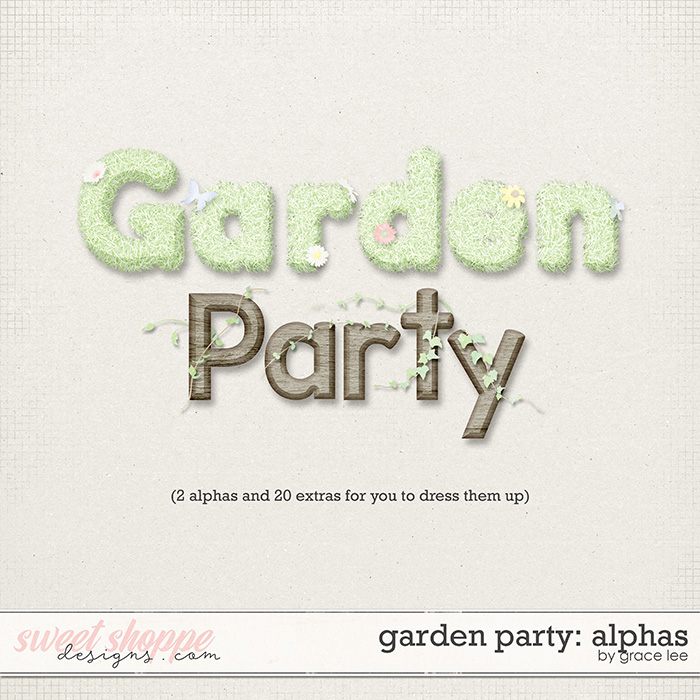 Garden Party: Alphas by Grace Lee