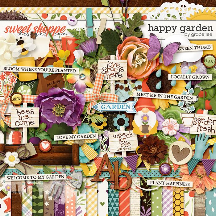 Happy Garden by Grace Lee