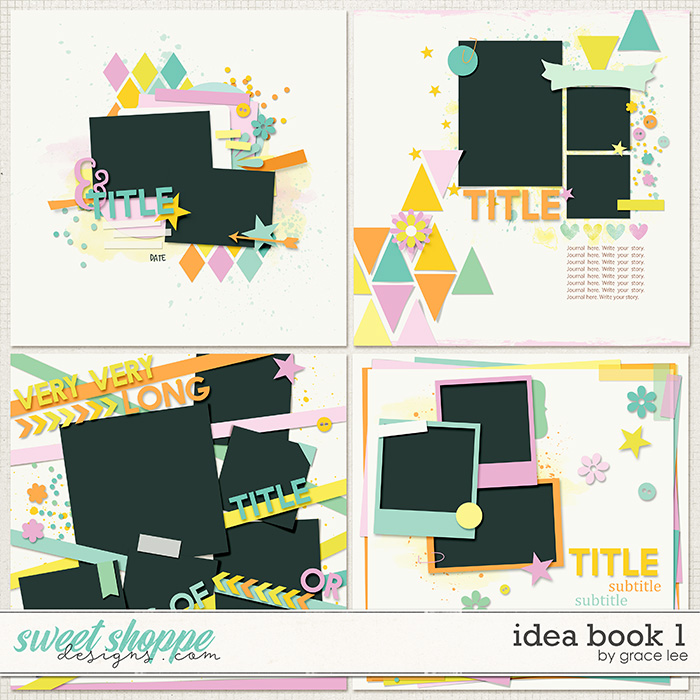 Idea Book 1 Templates by Grace Lee