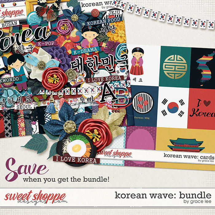 Korean Wave: Bundle by Grace Lee