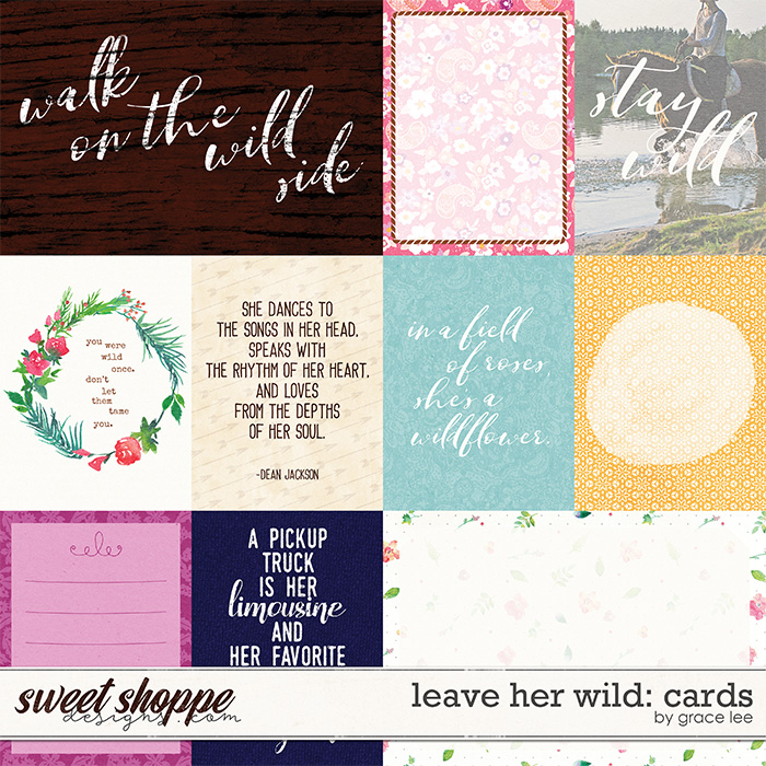 Leave Her Wild: Cards by Grace Lee